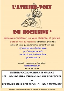 affiche explorer sa voix St Maurice[1]